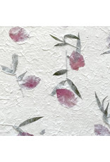 Mulberrypaper with bougainville