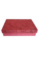 Boîte papier mulberry et fibres ecorce