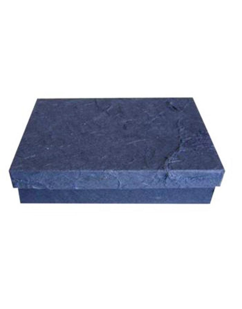 Schachtel von Maulbeer Papier mit Rindefasern
