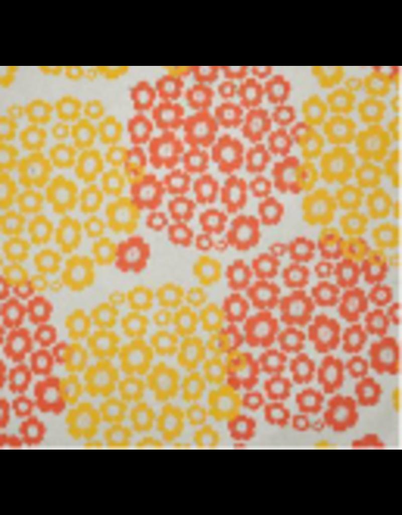 Lokta-Papier mit einem Hortensien-Druck
