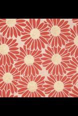 Lokta-Papier mit einem Druck von Gänseblümchen