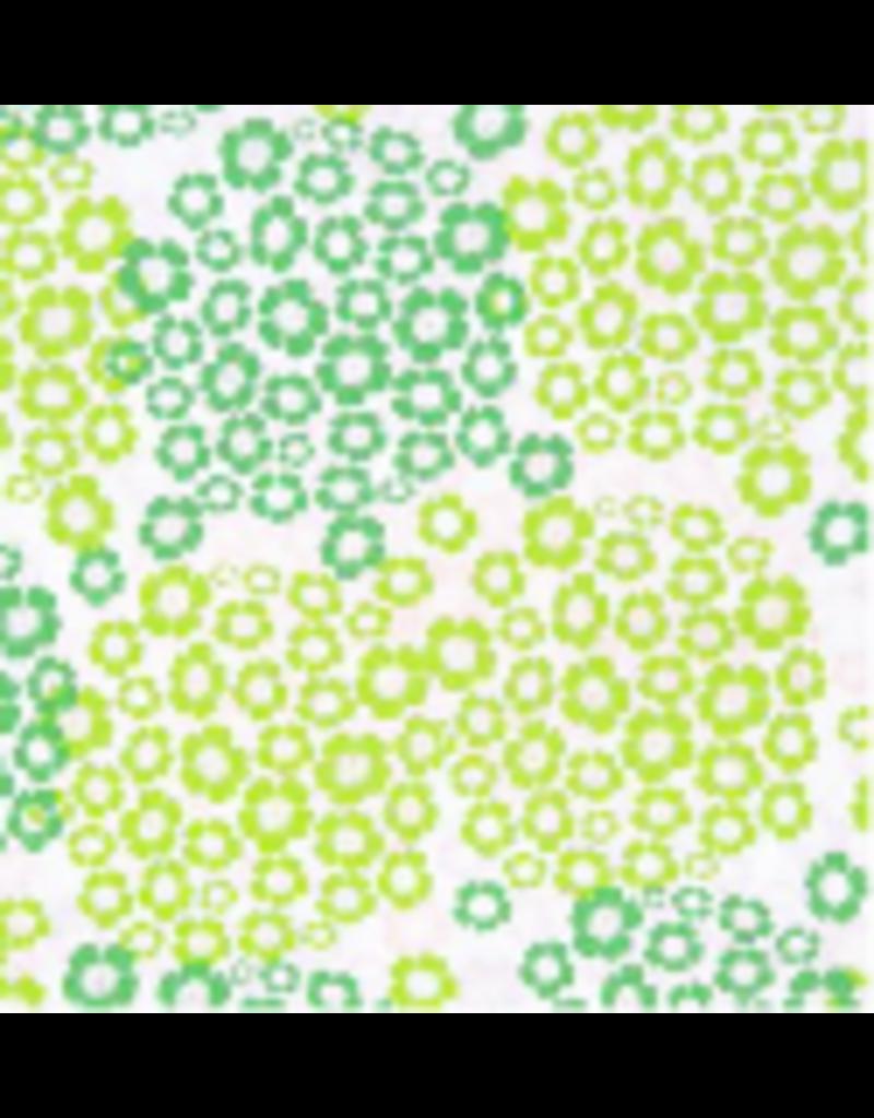 Lokta paper with hydrangea print