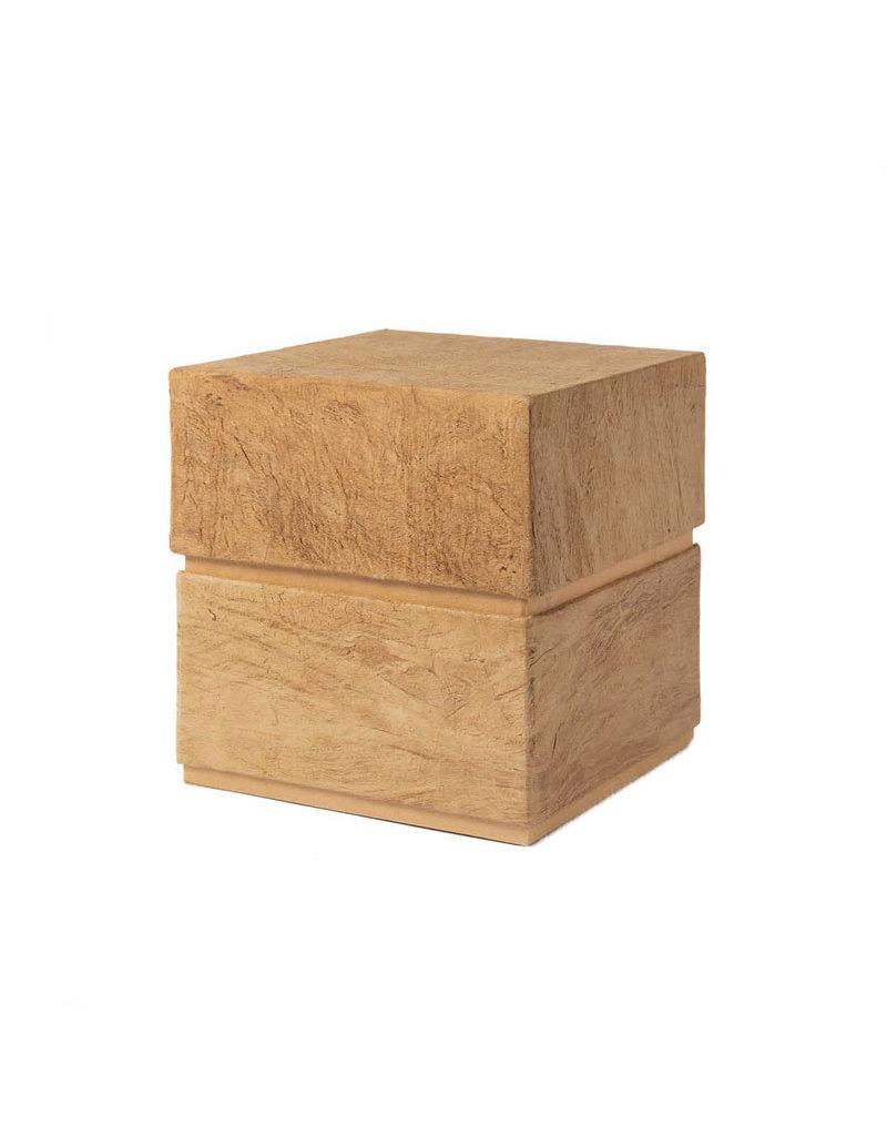 . Eco urn  bekleed met boombast