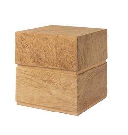 . TD406  Eco urn kubus vorm L