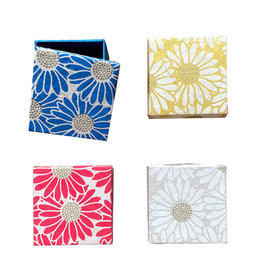 NE115 set of 4 boxes with sunflower