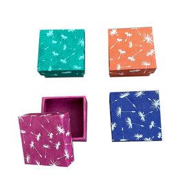 NE105 Ensemble de 4 boîtes en papier lokta