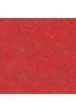 mulberrypapier rood met gouden print
