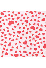 mulberrypaper, white with red hearts