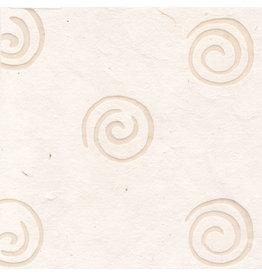 TH824 Mulberrypapier met spiralen van was