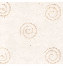 TH824 Papier mûrier à spirales de cire