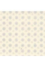 Lokta papier bloem/cirkel print