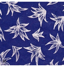NE150 papier lokta lily argente