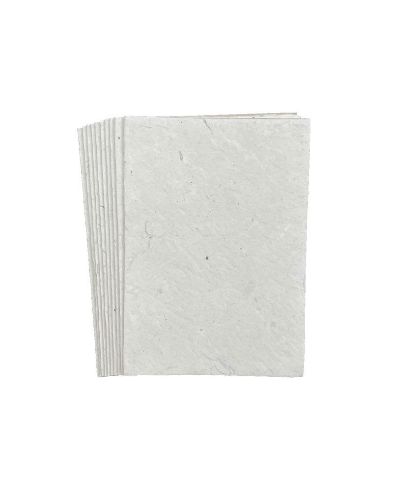 Set von 10 Karten aus lokta Papier