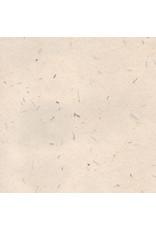 Gampi papier met grasmix, 90 gr.