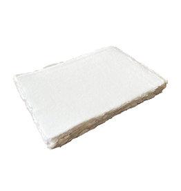 A3D007 Ensemble de 25 feuilles de papier de coton