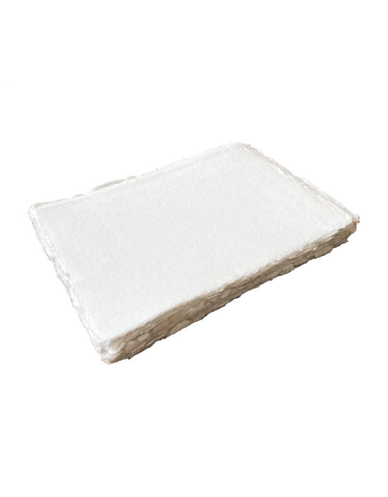 Ensemble de 25 feuilles de papier de coton, 200 gr