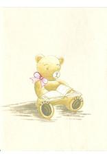 Set of 4 crd/env little bear