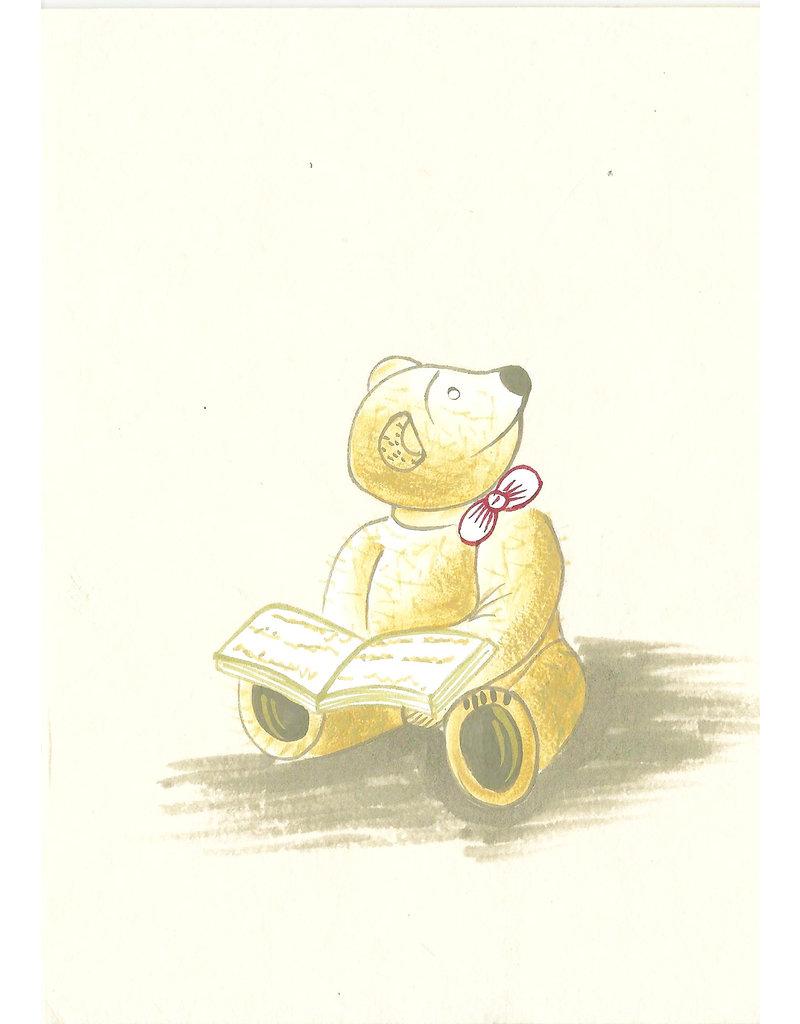 Ensemble de 4 crt/env avec image d'un ours