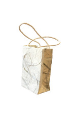 Mini bag made of Mulberry paper set of 10pc