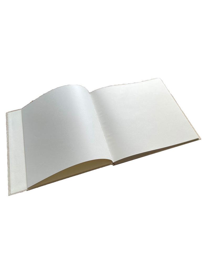 Gastenboek reliëf harten