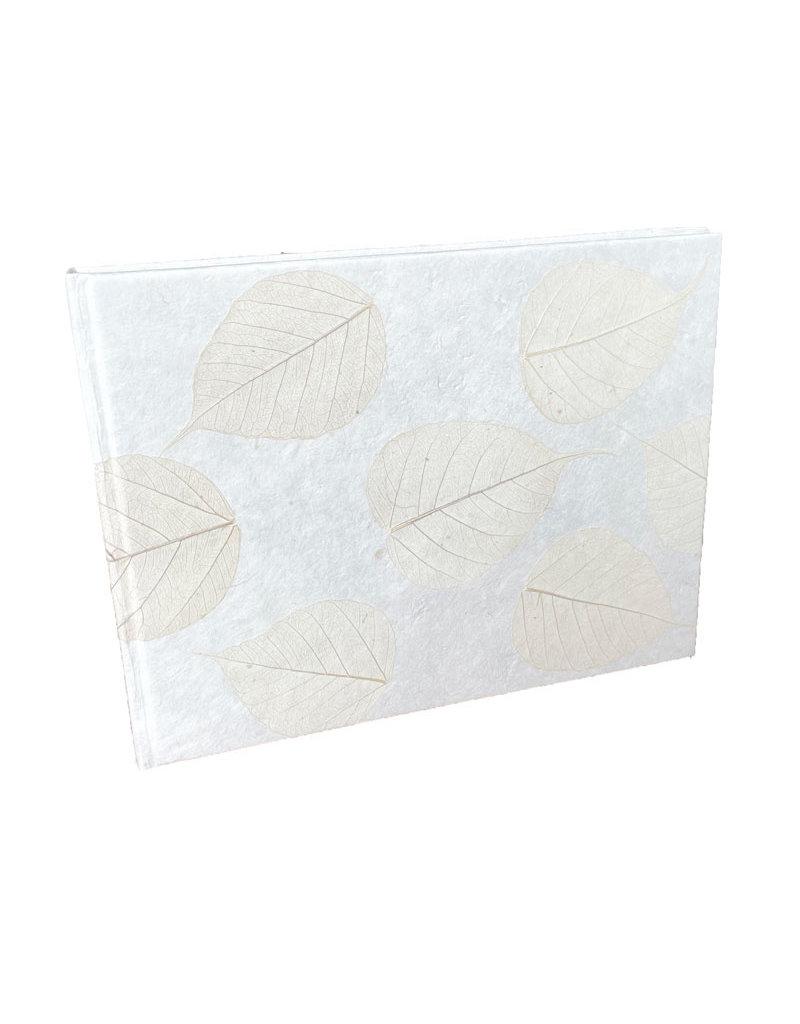 Gastenboek mulberrypapier/bloem