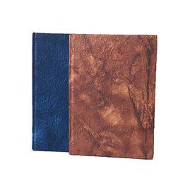 NE601 Notebook leather-paper