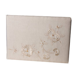 AE872 album cotton, with embroidery.