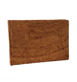 AE245 Guestbook crinkled leather-look