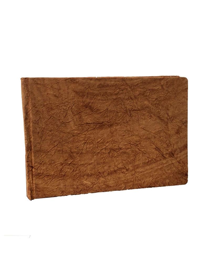 Gastenboek crinkle-leather-look