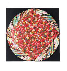 JP265 Lot de 30 feuilles aux dessins divers 10x10cm