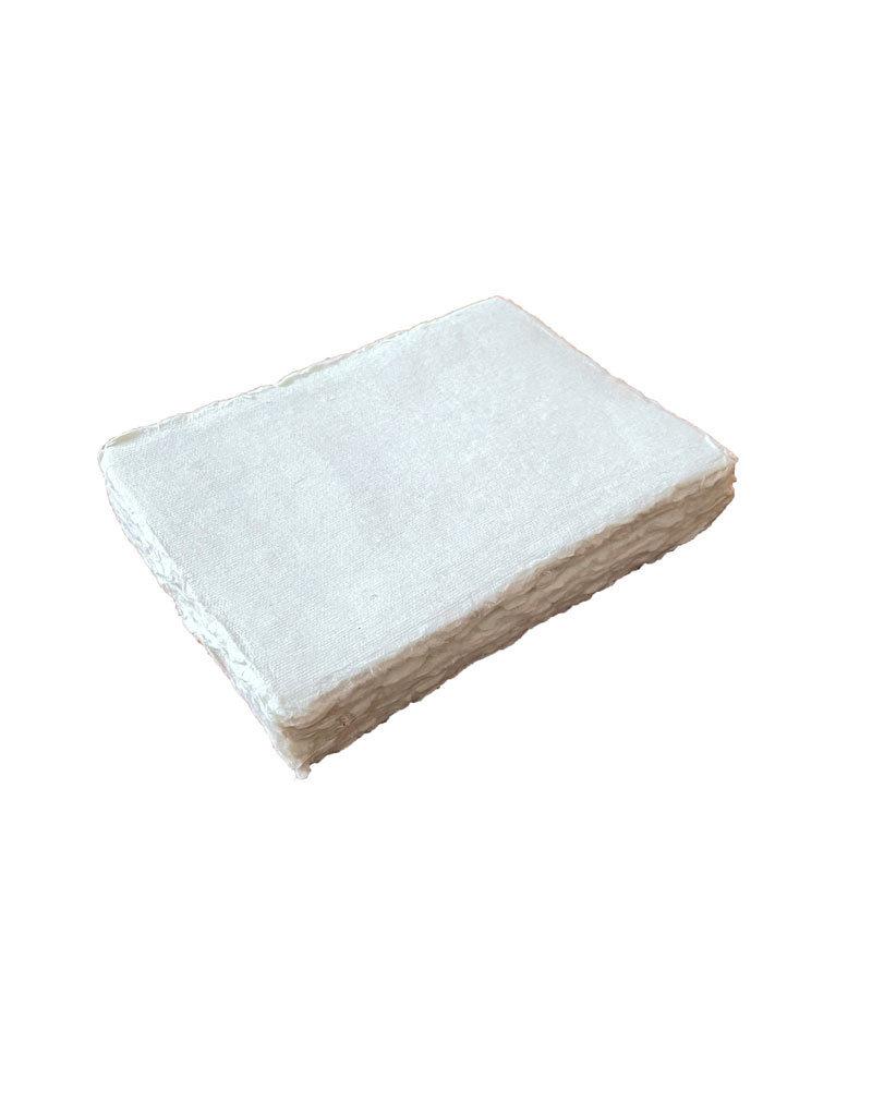 Set 25 kaarten katoenpapier met scheprand, 200 grams