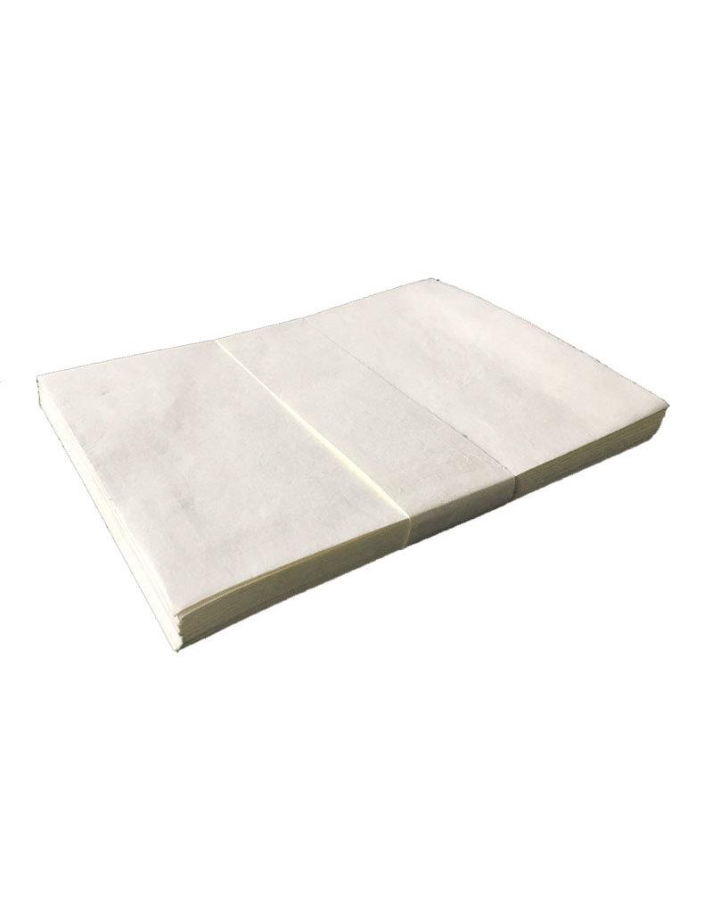 Set of 25 Envelopes white cottonpaper