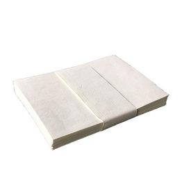 A6033 Satz von 25 Umschlaege, Baumwollepapier 13x17cm