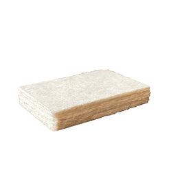 A6023 Set 25 kaarten mulberrypapier