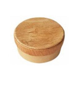 TH288 Round box with bark