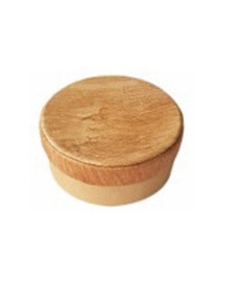 Round box with bark