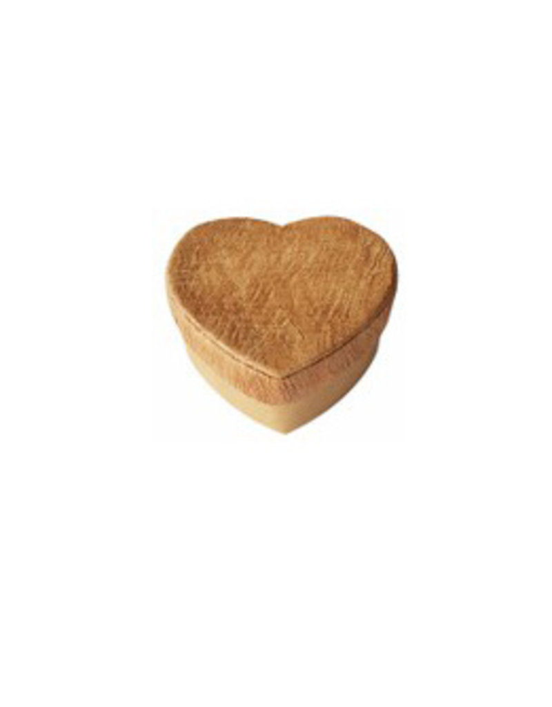 Heartshape box with bark