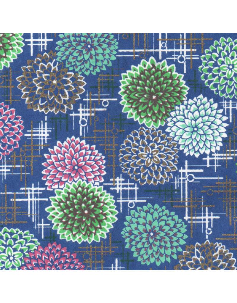 Japans papier met siervuurwerkprint