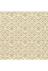 Papier coton imprimé en or