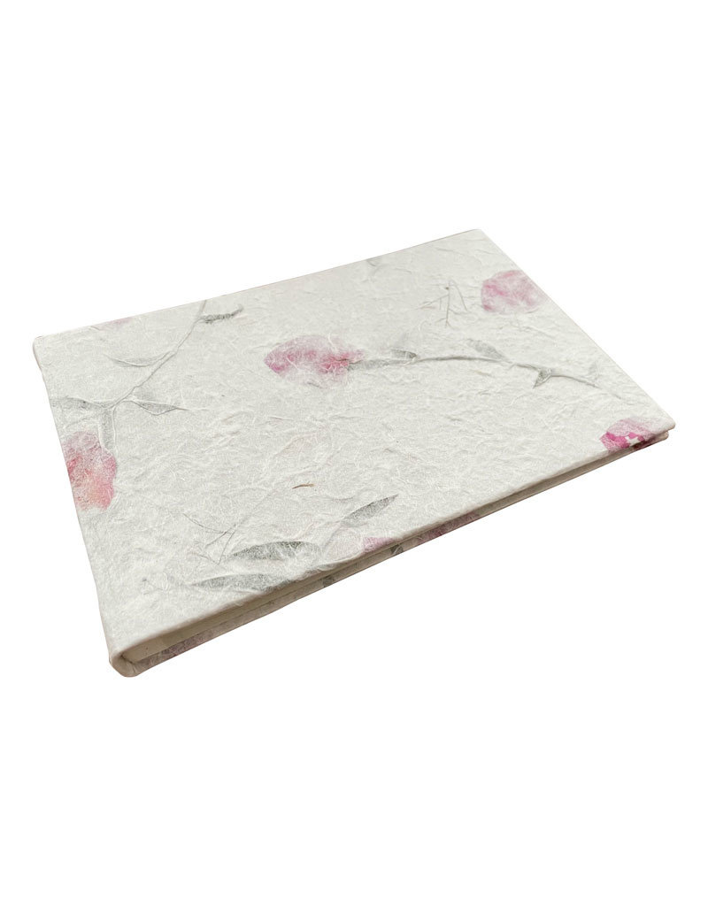 Album with print or flowers