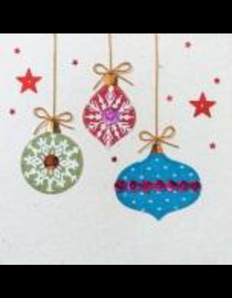 . Set 6 Karten / Umschläge mit Weihnachtsmotiv