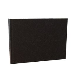 AE936 Guestbook with embossed roses