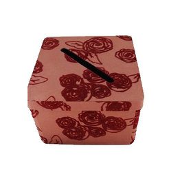 AE908 Foldable box decorated with roses
