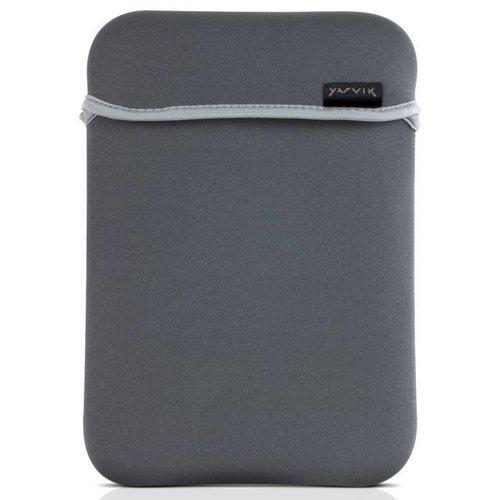 Yarvik 8 inch - universele neoprene tablet sleeve - Zwart / Grijs