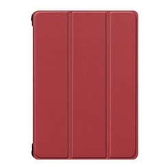 iPad Air 10.5 Hoes (2019) - Tri-Fold Book Case - Donker Rood