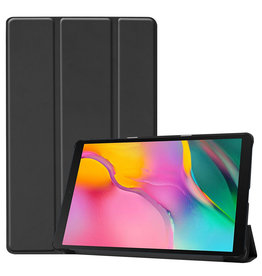 Cover2day Samsung Galaxy Tab A 2019 hoes - Tri-Fold Book Case - Black