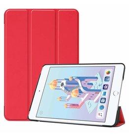 Serise iPad Mini 2019 hoes - Tri-Fold Book Case - Rood