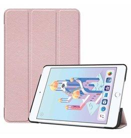 Serise iPad Mini 2019 hoes - Tri-Fold Book Case - Rosé Goud