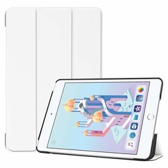 iPad Mini 2019 hoes - Tri-Fold Book Case - Wit