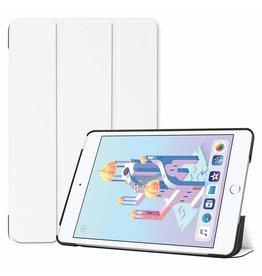 Serise iPad Mini 2019 hoes - Tri-Fold Book Case - Wit